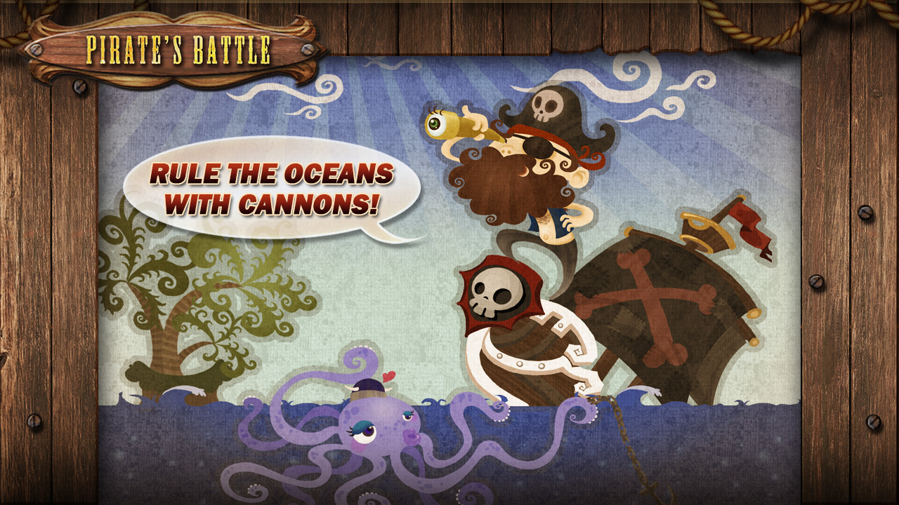 Screenshot of Pirate's Battle