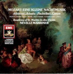 Academy of St. Martin in the Fields - Mozart: Serenade in G, K.525