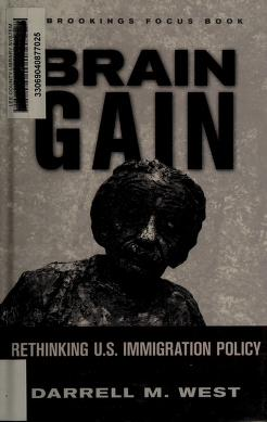 Cover of: Brain gain | Darrell M. West