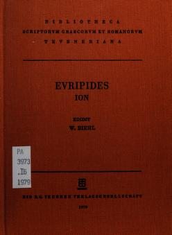 Cover of: Ion   Euripides