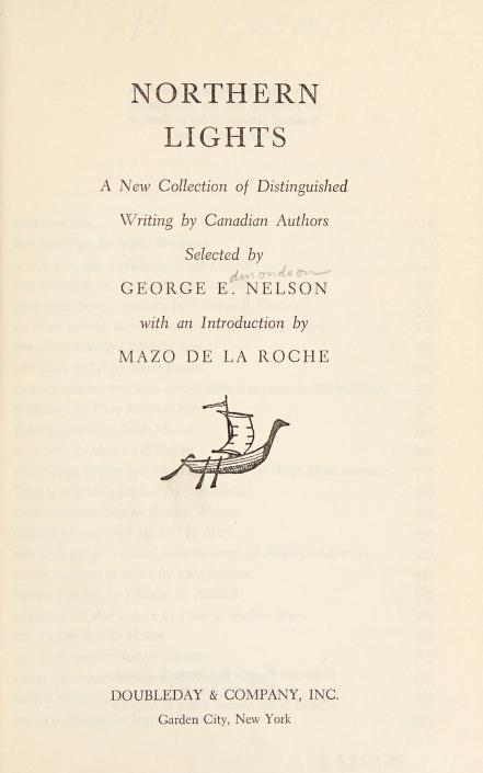 Northern lights by George Edmondson Nelson