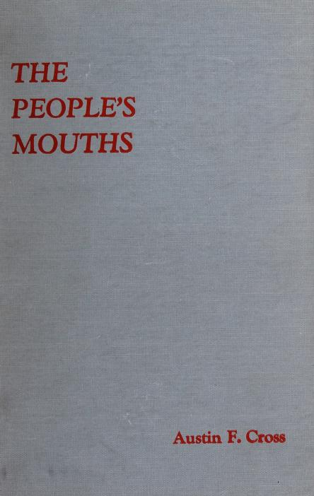 The people's mouths by Austin Fletcher Cross