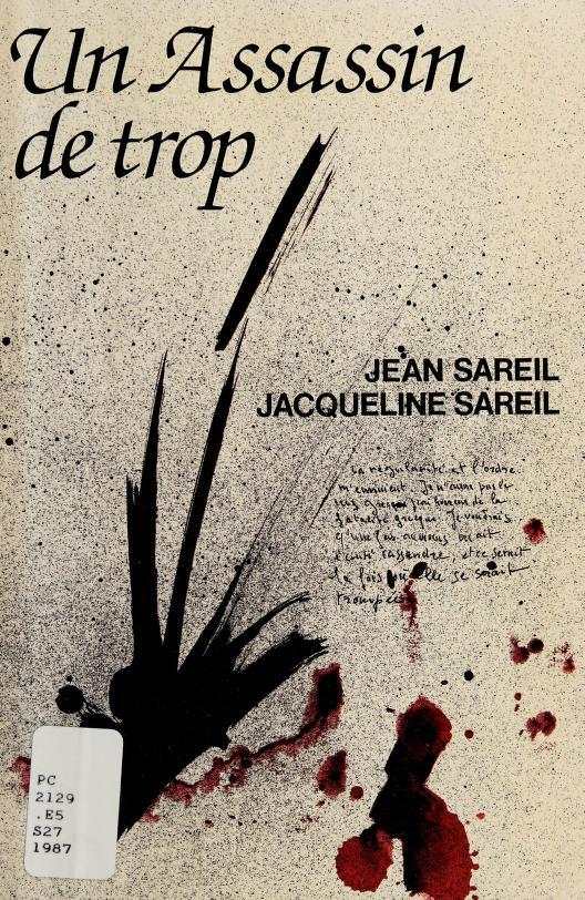 Un assassin de trop by Jean Sareil