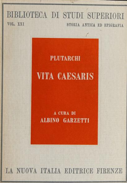 Vita Caesaris by Plutarch